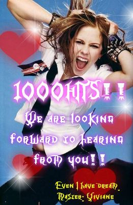 1000Hits!!