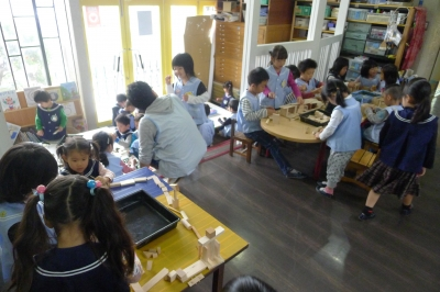 ある日の幼稚園1