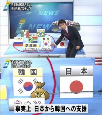 【政治】通貨スワップ、700億ドル(約5.4兆円)に拡充…日韓首脳会談で合意