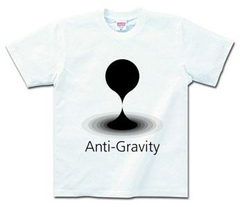 Anti-GravityのTシャツ