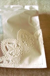 ミシンで紙を縫うのって大好き(///∇//)
