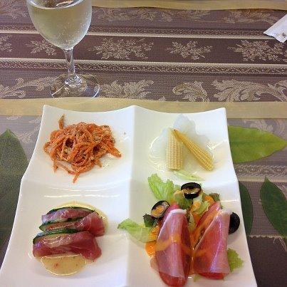 4日目:ディナー・前菜
