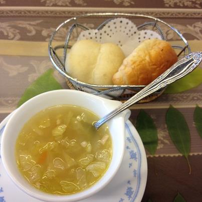 4日目:ディナー・パンとスープ