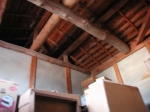 改装前の屋根裏