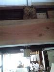 2階床の構造材