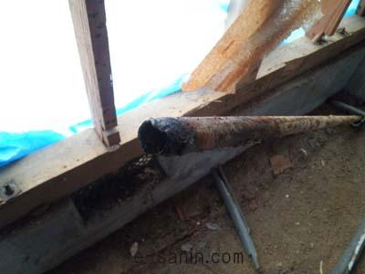 配管の腐れ
