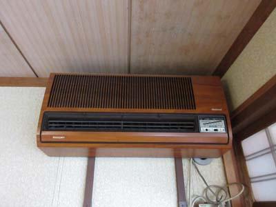 旧式エアコン