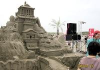 砂の彫刻3