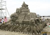 砂の彫刻4