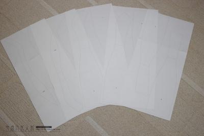 型紙印刷(カラフル×セクシィ)