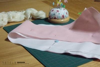 布重ね仮縫い(カラフル×セクシィ)