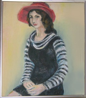 むらさきの母作品 油絵