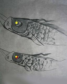 鯉のぼりアート