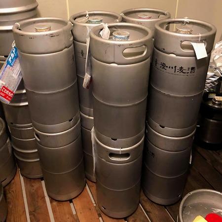 ビアフェス用ビール・江津に到着