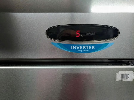 約40時間の停電でも5℃で耐えてくれました
