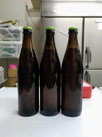 瓶ビール試作