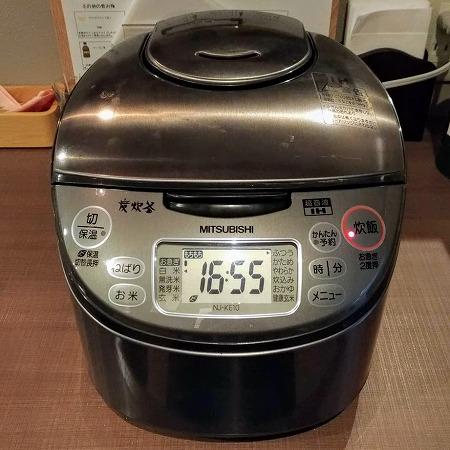 炊飯器導入!