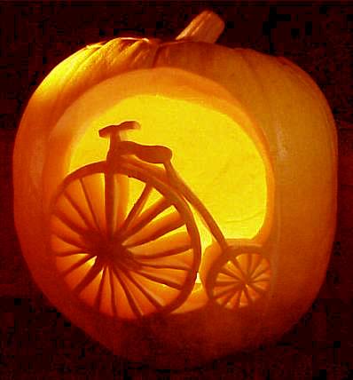 Jack-O'-Lantern ならぬ Bike-O'-Lantern