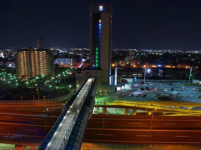 泉大津PA 夜景