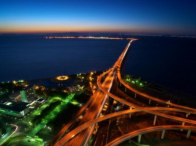 りんくうゲートタワービル スターゲイとホテル 夜景