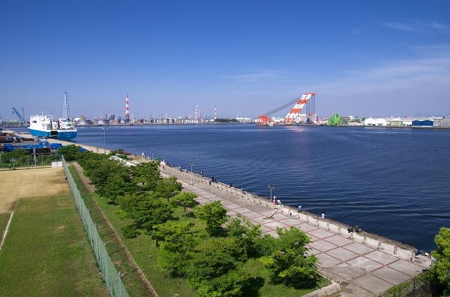 泉大津市中央緑地多目的広場