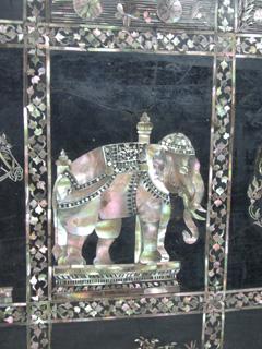 象さんの螺鈿