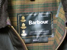 バブアー(Barbour)