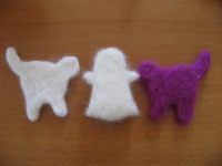羊毛 型抜き