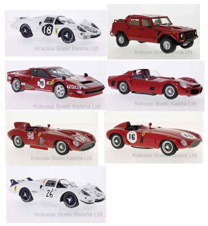 Tourist Trophy Kelly//Titterington 1:18 CMF Ferrari 750 Monza #16