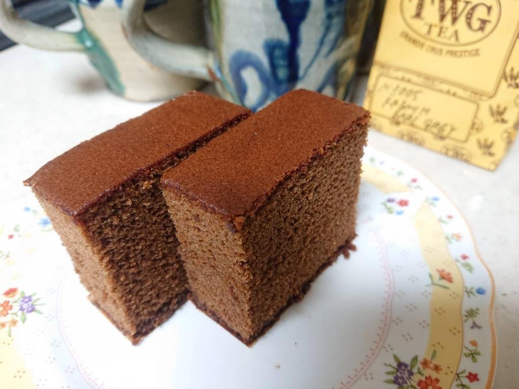 松翁軒のチョコラーテ