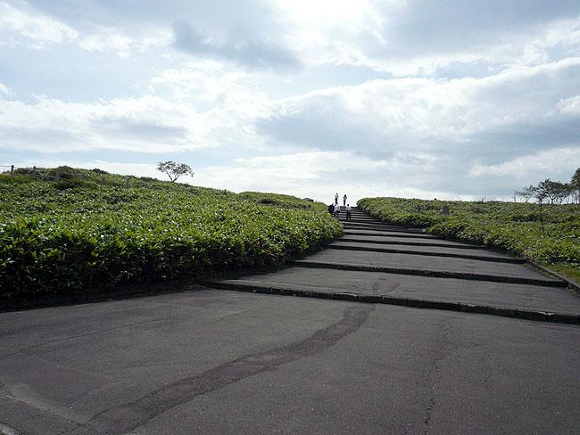 美幌峠階段
