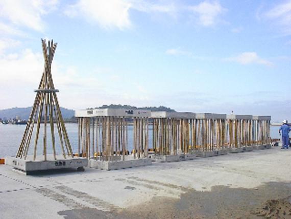 カワノ工業 竹コンクリート漁礁