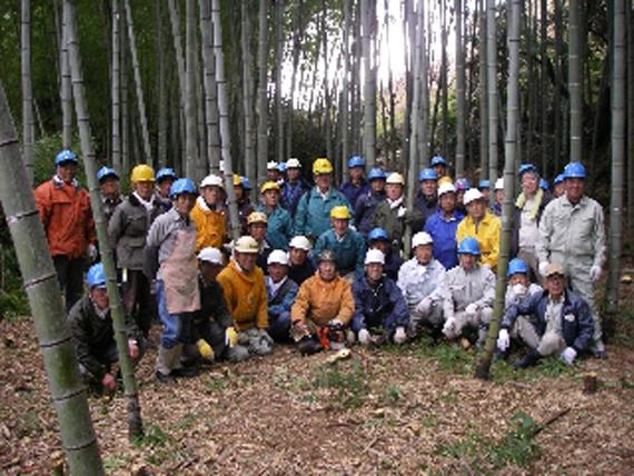 カワノ工業 竹伐採チーム