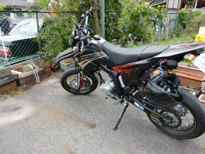 WR250X_滋賀京都ツーリング18