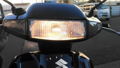 アドレスV100_LEDヘッドライト2