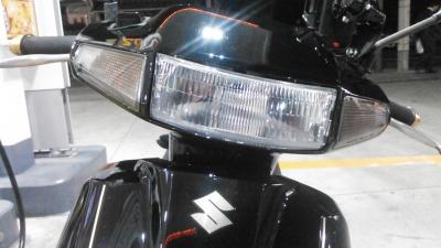 アドレスV100_LEDヘッドライト8
