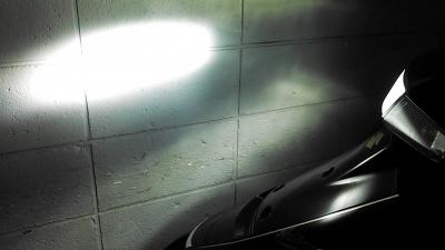 アドレスV100_LEDヘッドライト3