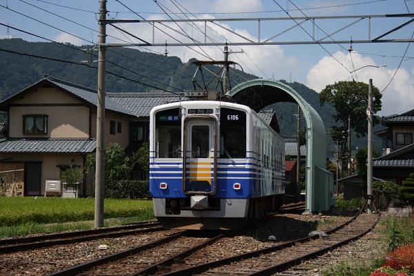 2007/8/17_越前竹原駅にて