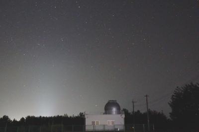 天文台と南天