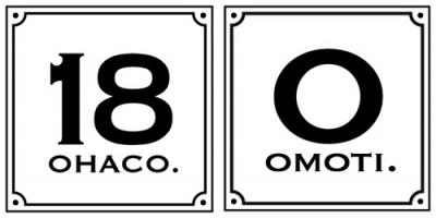 omoti&ohacoロゴ