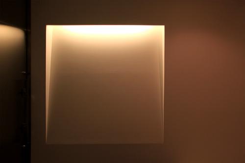 玄関 間接照明 スタイリッシュ モダン シンプル
