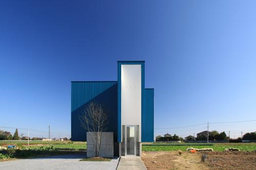 群馬県 太田市 建築家 館林市 設計事務所 住宅 家 デザイン 青い家