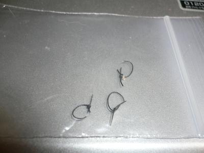 コロネのつなぎ糸。