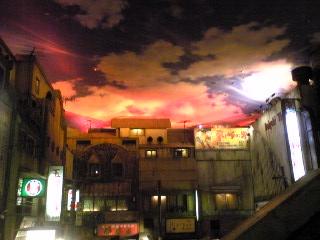 そこには昭和の夕焼けが。