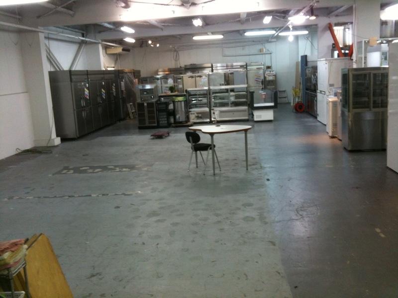 広々厨房部