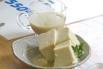 豆乳・チーズ豆腐