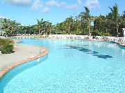 ラグナガーデンホテル 屋外プール