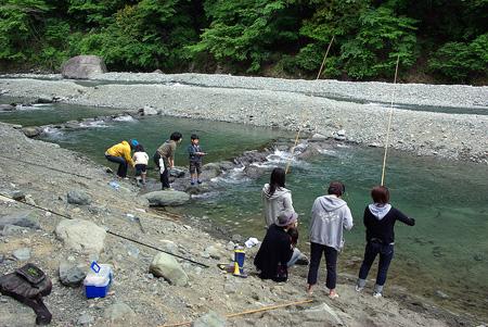 管理釣り場イベントは初です。