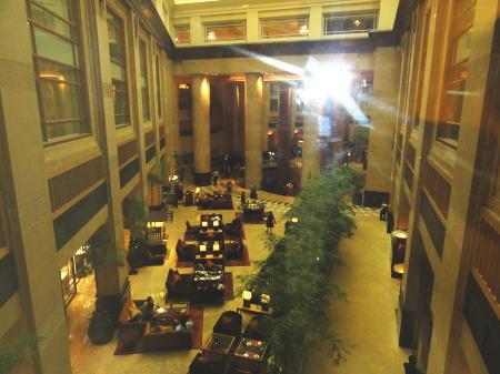 フラトンホテルのアフタヌーンティ