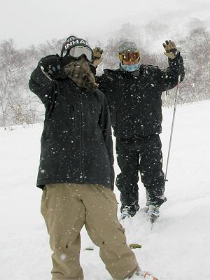 スキー@ニセコ